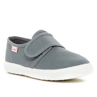 Cienta Kids Single Velcro Strap Grey