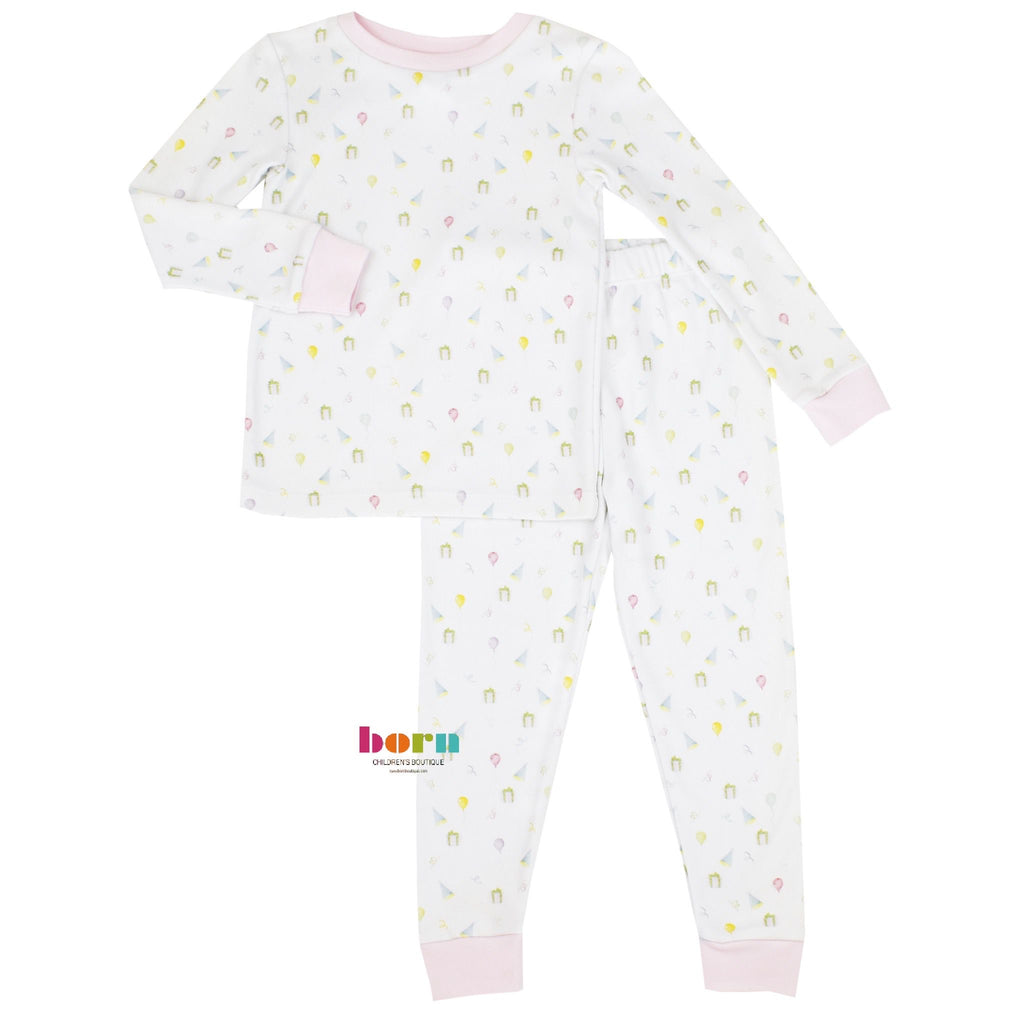 Sweet Pea PJ Set - Girl Party - Dream Big - Born Childrens Boutique