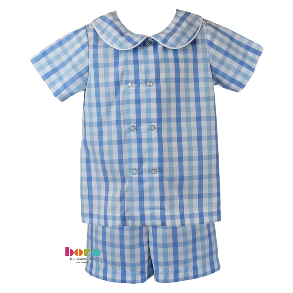 Arlington Short Set - Little Bunny Foo Foo - Born Childrens Boutique