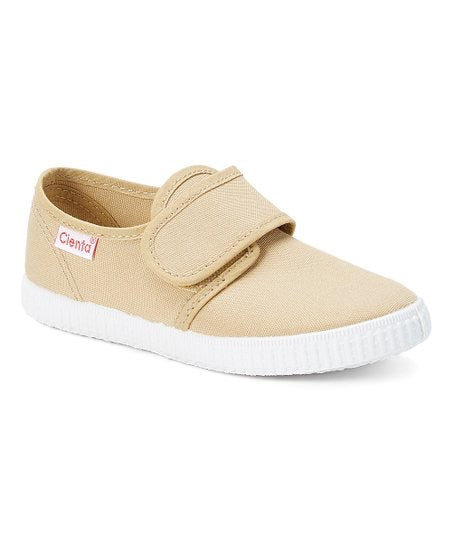 Cienta Kids Velcro Tan