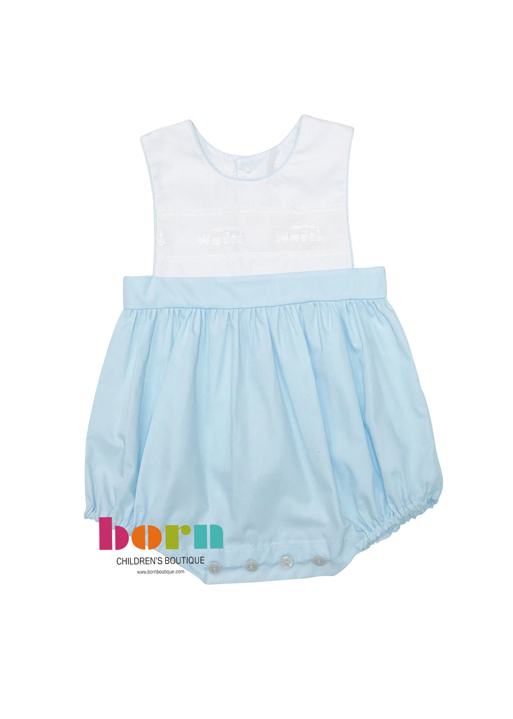 LaJenn Train Bubble Blue - Born Childrens Boutique