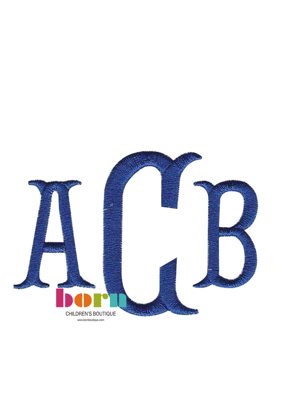 Cotillion Initials - Born Childrens Boutique