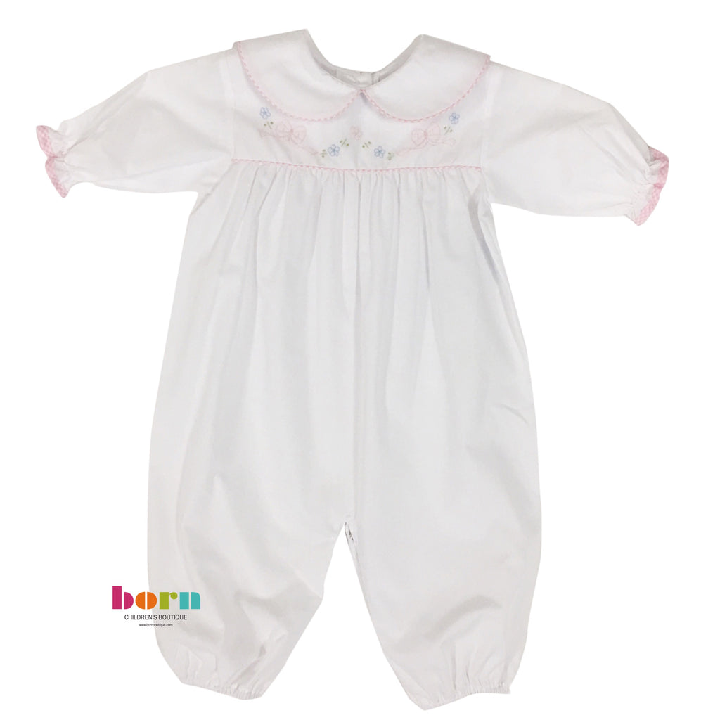 Converter White with Pink Bows - Born Childrens Boutique