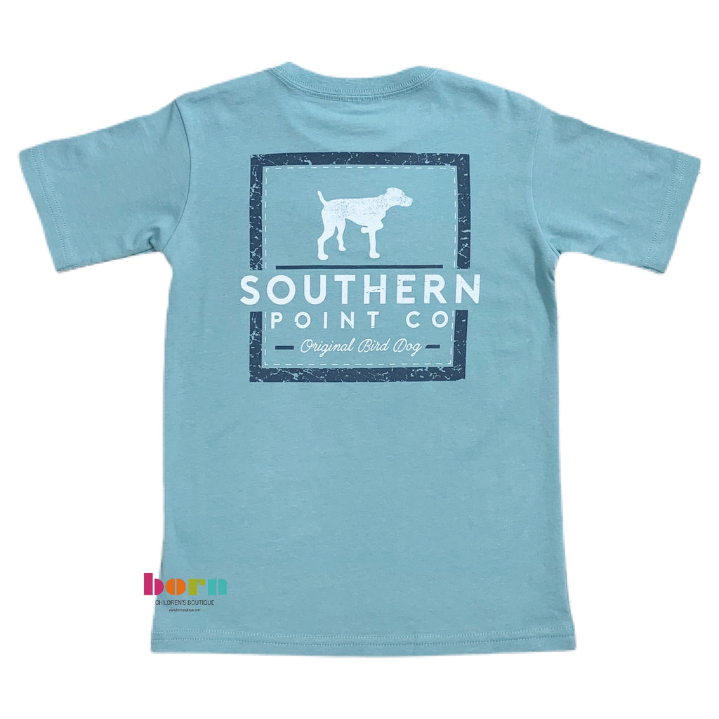 Bay Vintage Squares T-shirt - Born Childrens Boutique