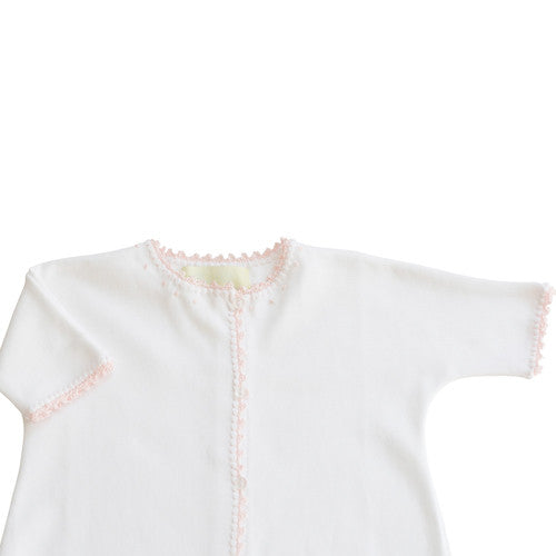 Pink Jersey Day Gown - Born Childrens Boutique