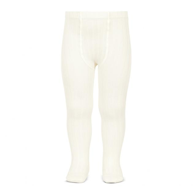 Ribbed Tights Cream - Born Childrens Boutique