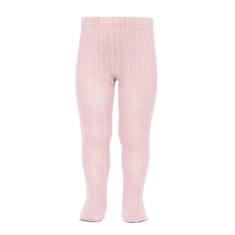 Ribbed Tights Light Pink - Born Childrens Boutique