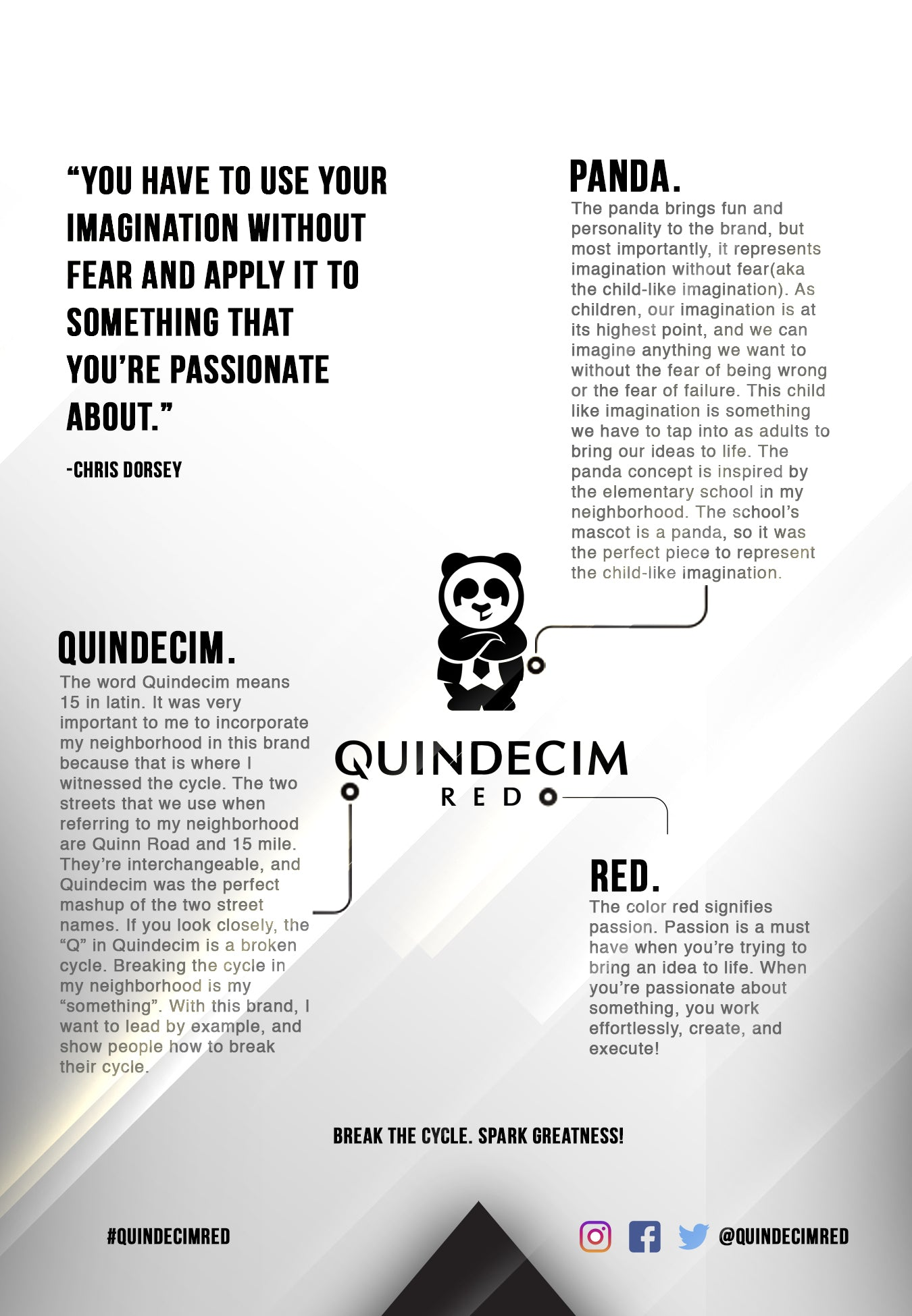 Quindecim Red About Page