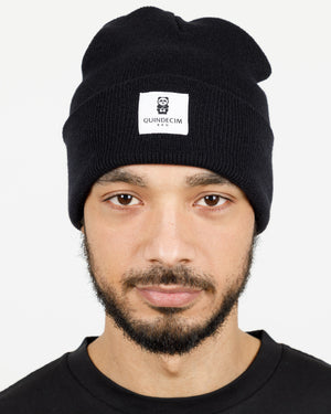Quindecim Label Beanie (Black)