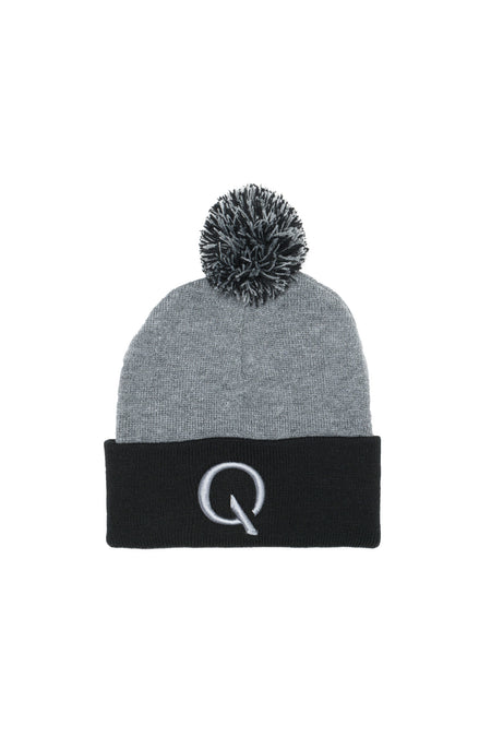 Broken Cycle Knit Cap (Grey/Black)