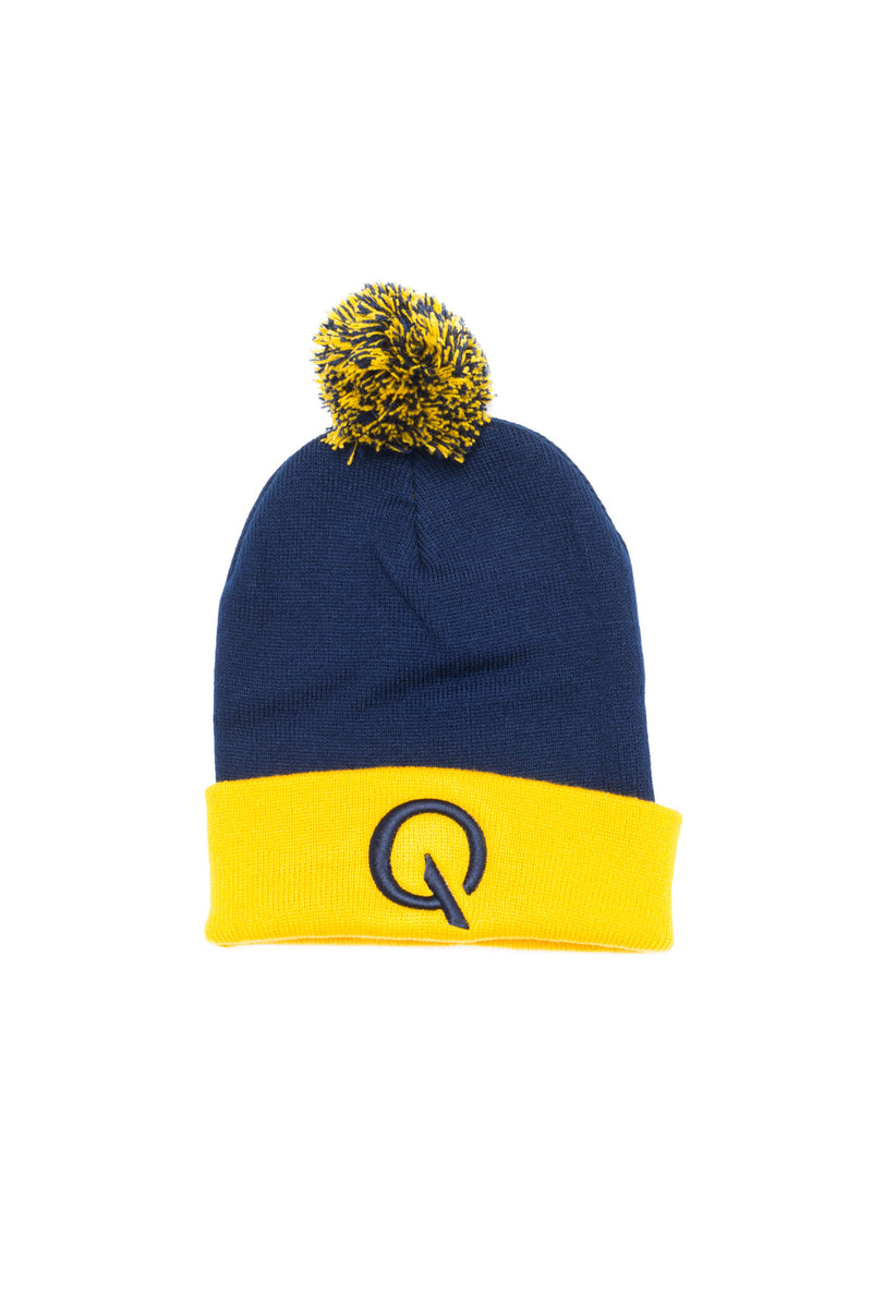 Break The Cycle Pom Pom (Blue/Gold) - Quindecim Red