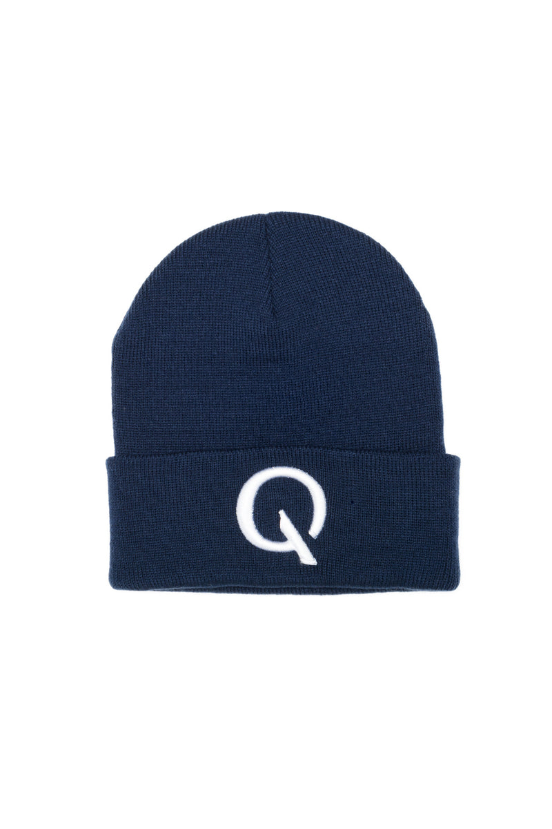 Break The Cycle Knit Cap (Navy) - Quindecim Red