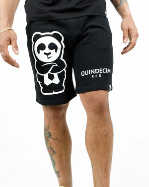 Giant Panda Shorts (Black)