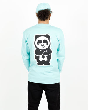Giant Panda Fam Long Sleeve (Mint)