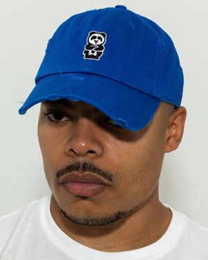 Father Cap (Distressed Light Royal)