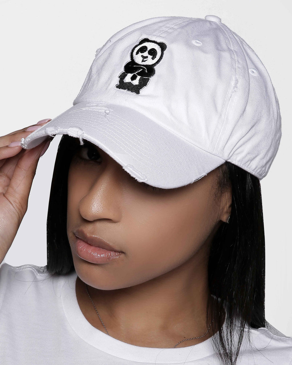 Father Cap (Distressed White)