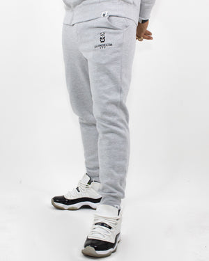 Panda Joggers (Light Grey)