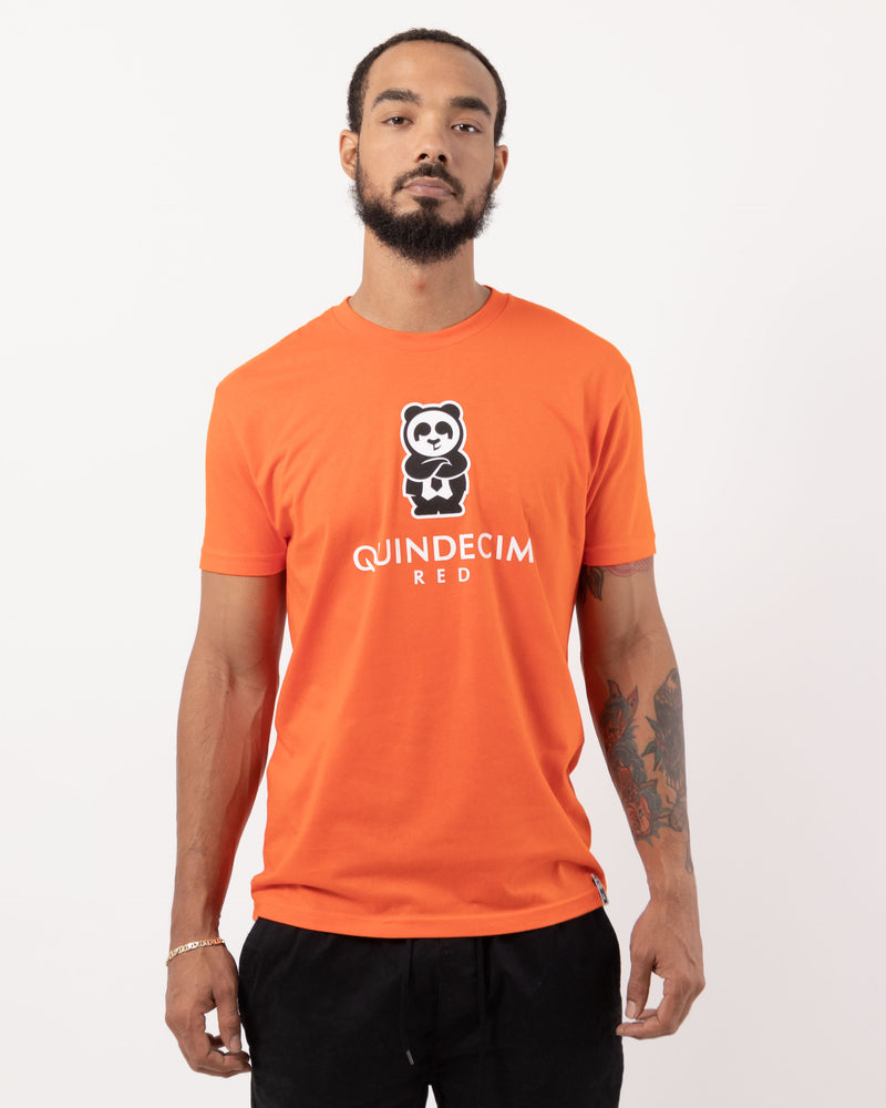 Short Sleeve Panda (Orange)