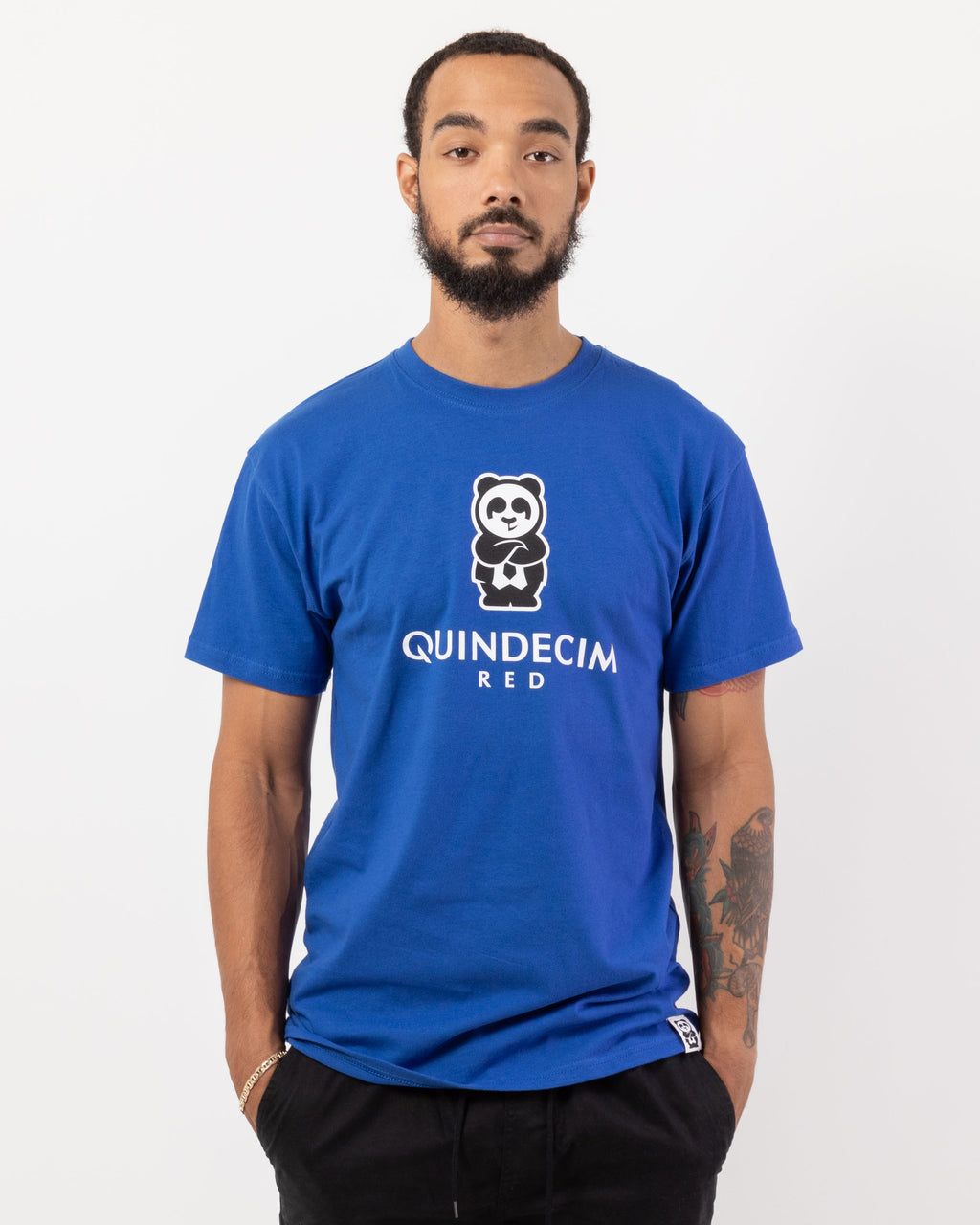 Short Sleeve Panda (Royal)