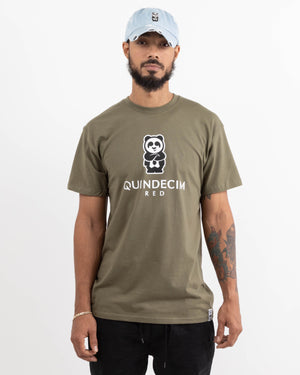 Short Sleeve Panda (Army)