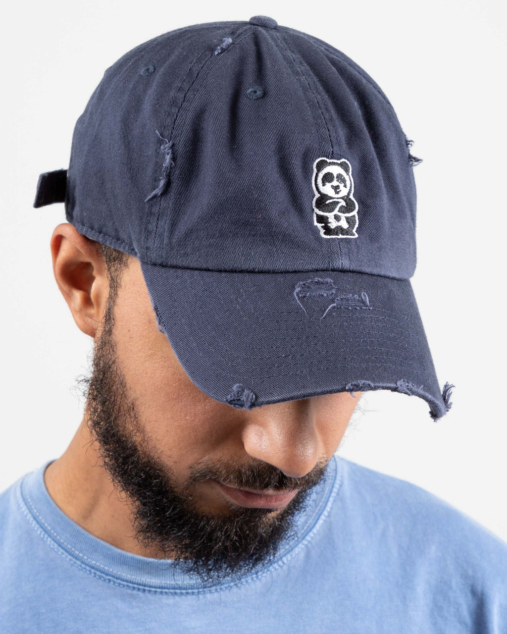 Father Cap (Distressed Navy)