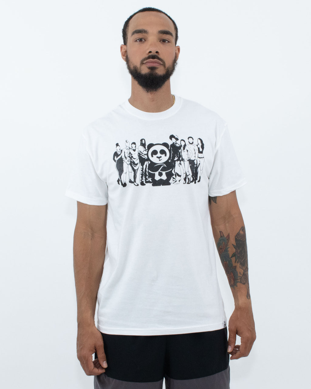 """Lead By"" Tee (White)"