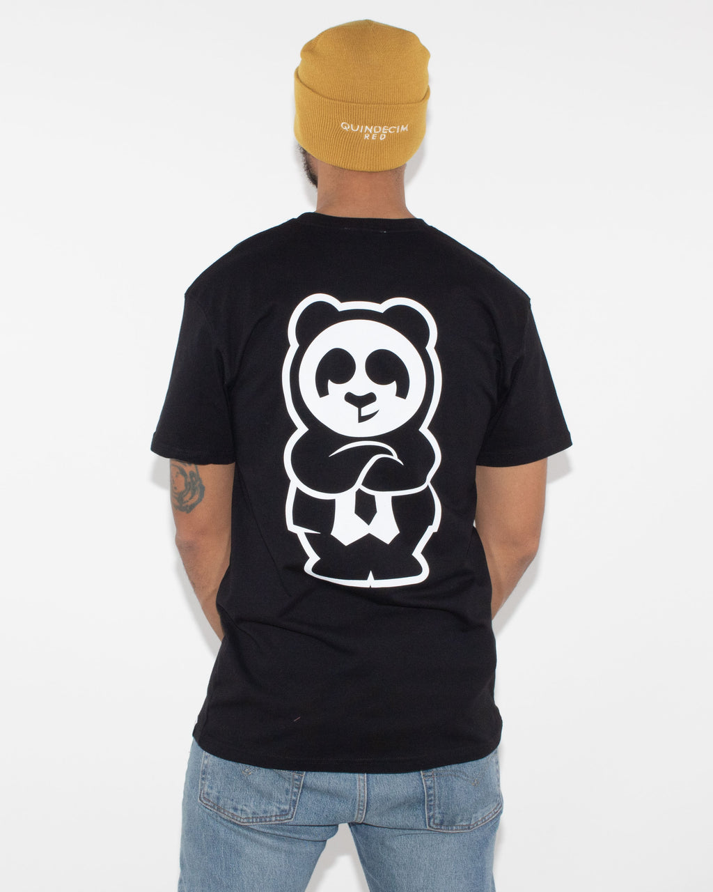 Giant Panda Fam Tee (Black)