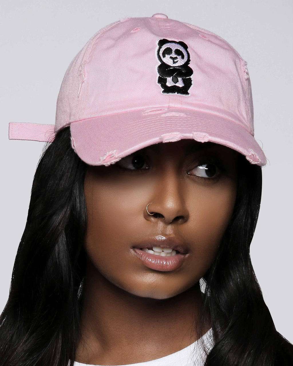 Father Cap (Distressed Pink)