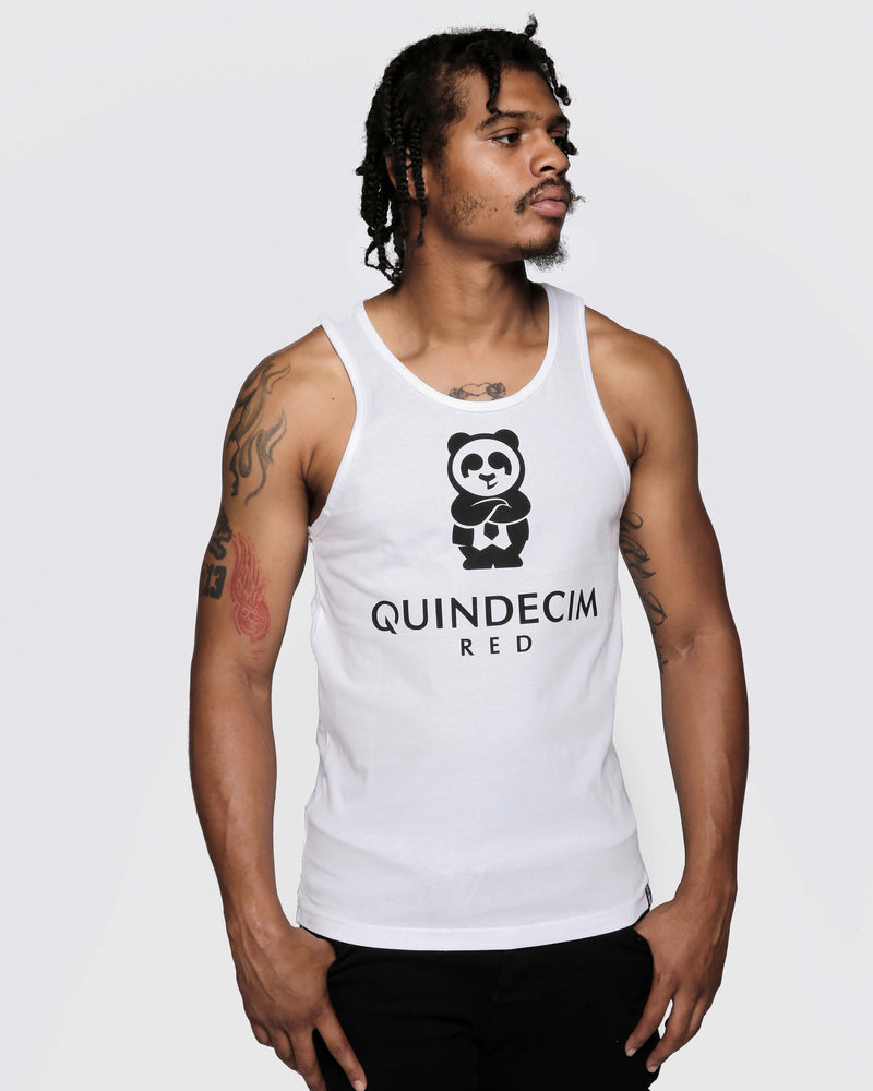 Men's Signature Tank (White)
