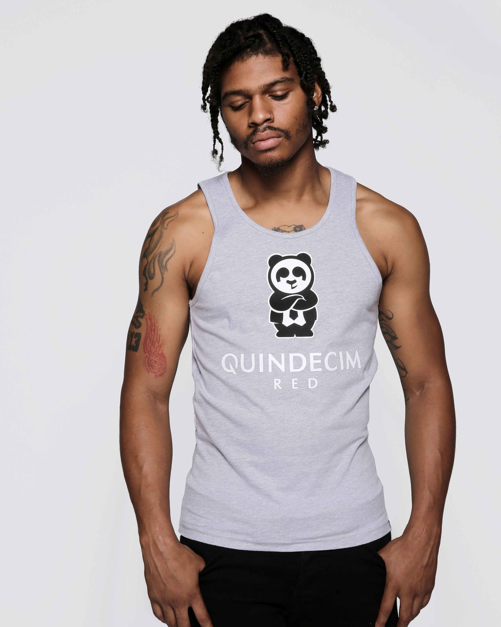 Men's Signature Tank (Grey)