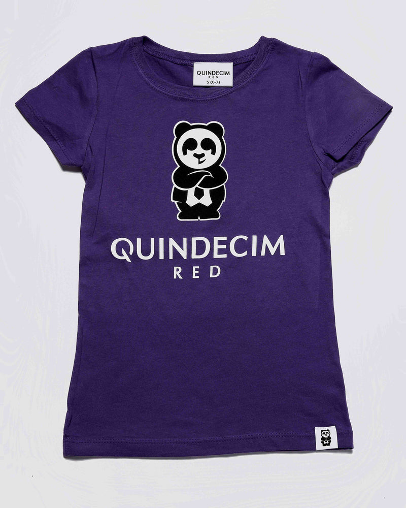 Girl's Signature Tee (Purple)