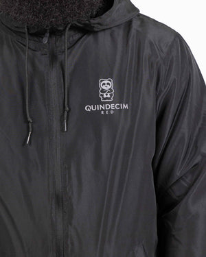 Panda Fam Windbreaker (Black/Reflective)