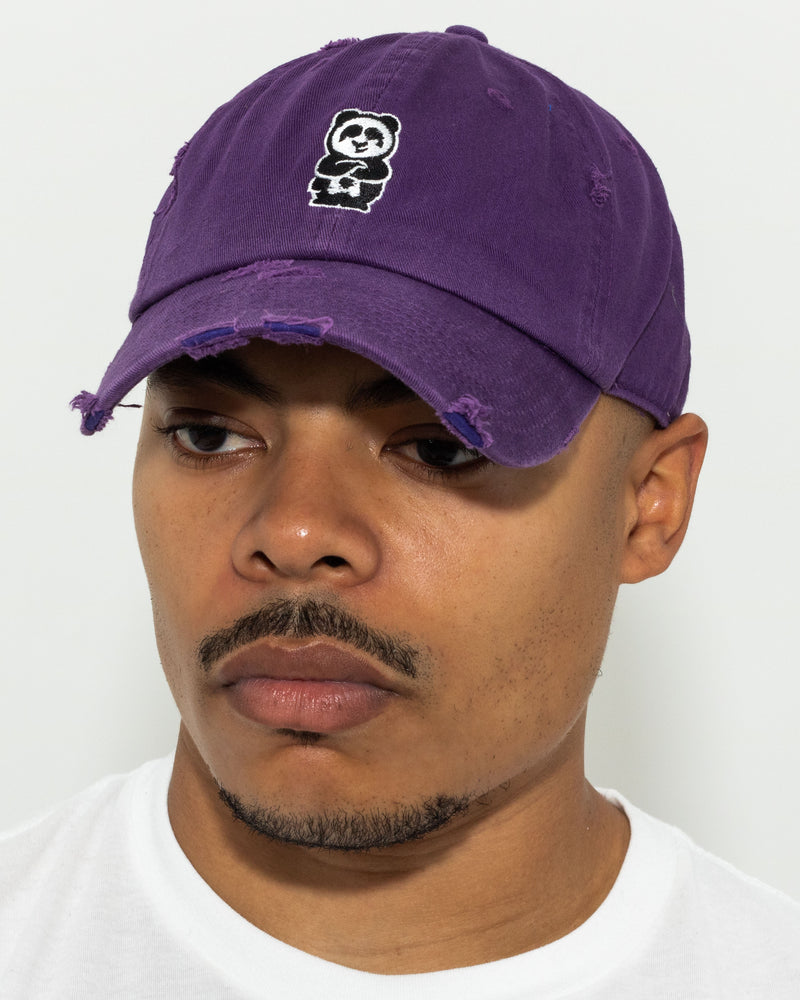 Father Cap (Distressed Purple)