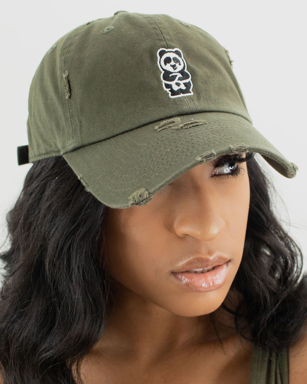 Father Cap (Distressed Army)