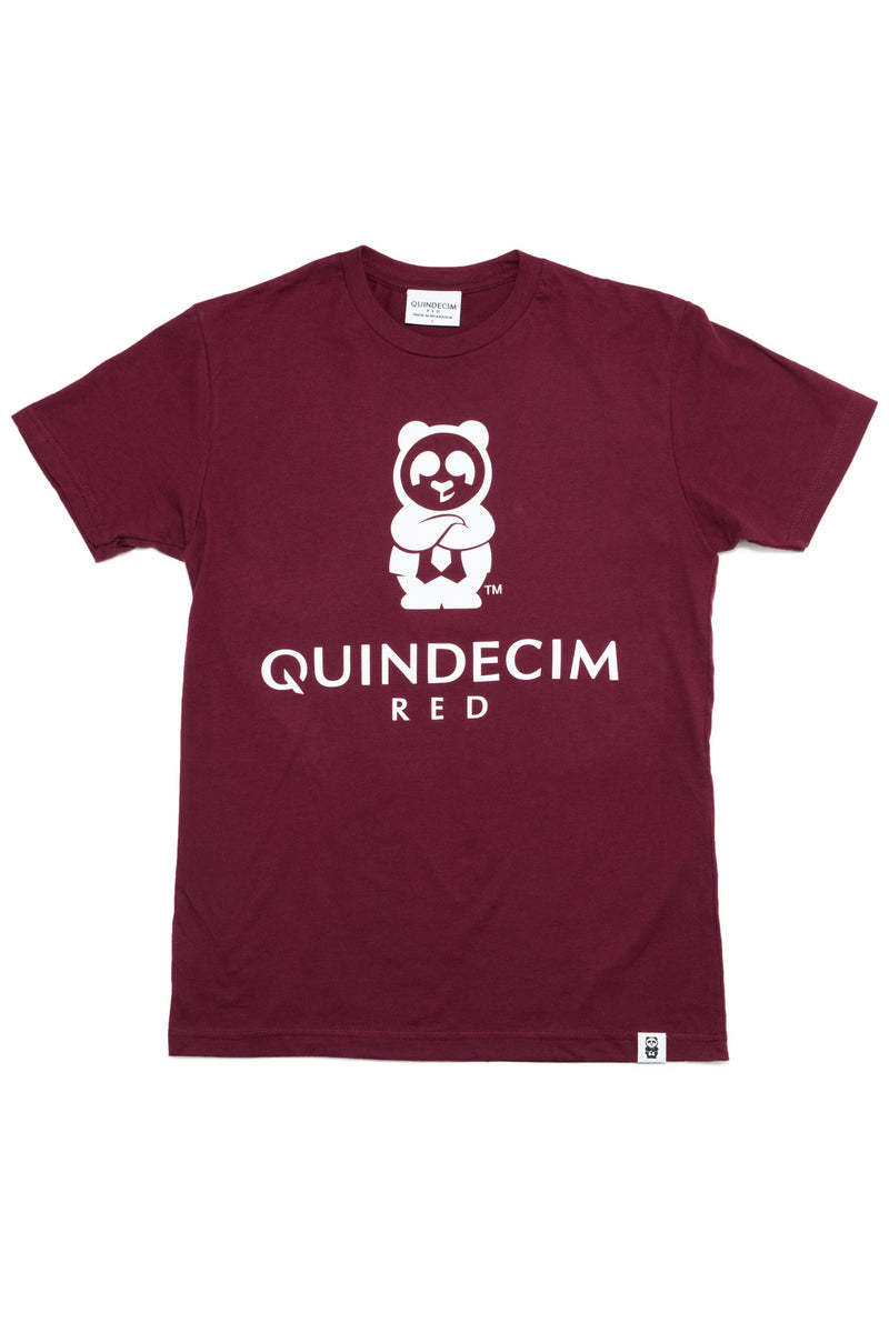 Men's Signature Tee (Maroon) - Quindecim Red