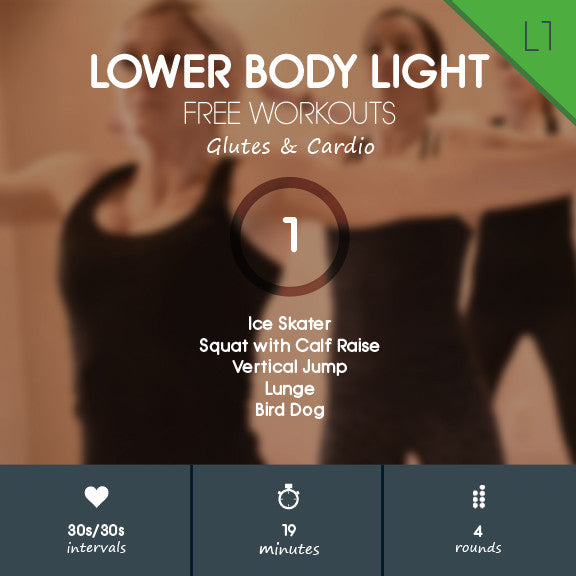 Lower Body Light 01 - Glutes & Cardio