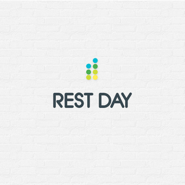 Day 57 - Rest Day Sunday