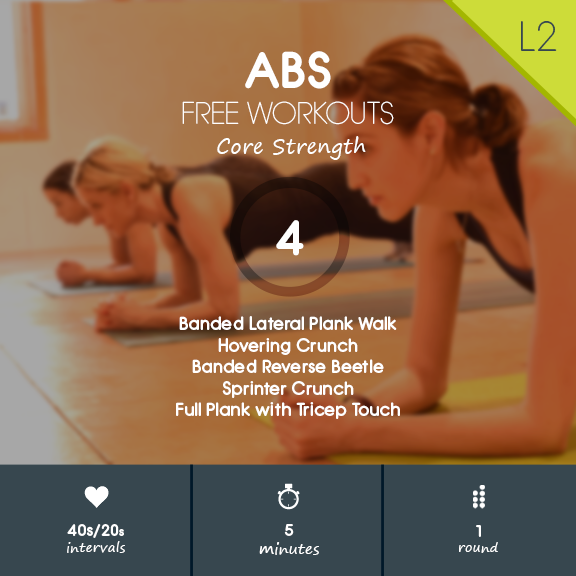 5 minute Ab Workout Finisher