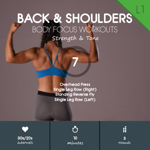 free back shoulders workout 7