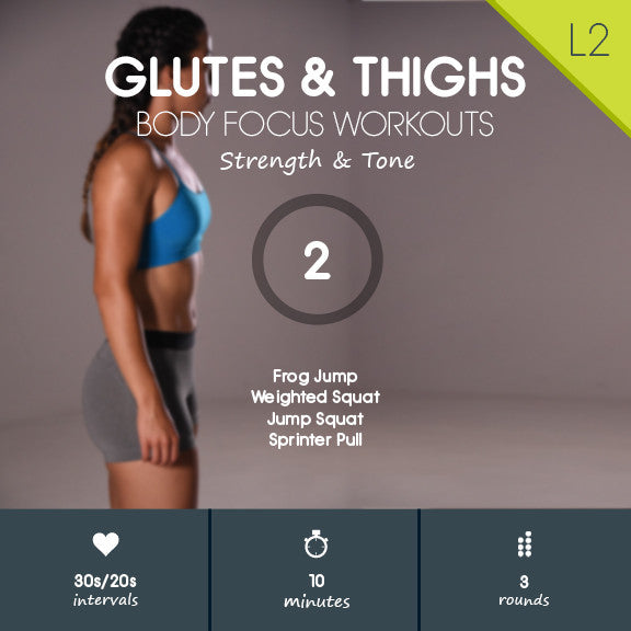 Free Glute Thigh HIIT Workout