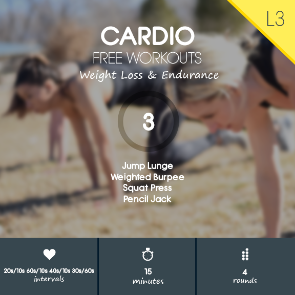 HIIT Cardio Workout Video