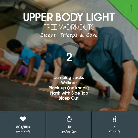 Free HIIT Workout for Beginners – Upper Body