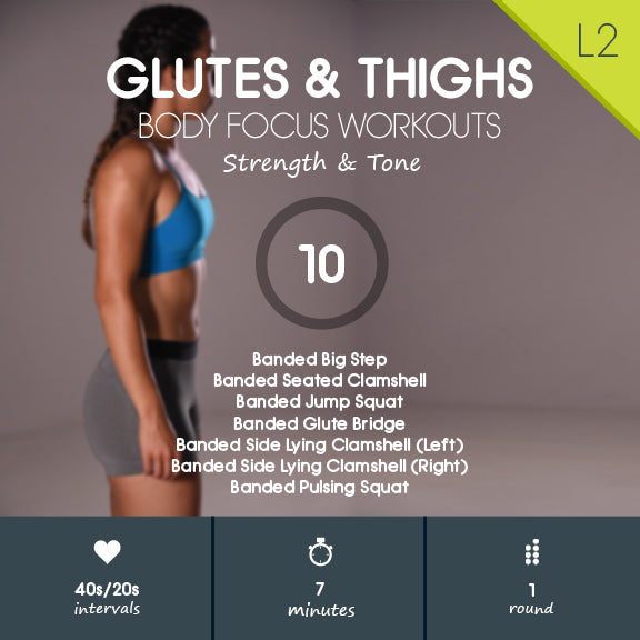 Resistance Band Workout for Glutes