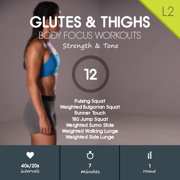 At Home Workout for Legs - Glutes, Hamstrings & Quads