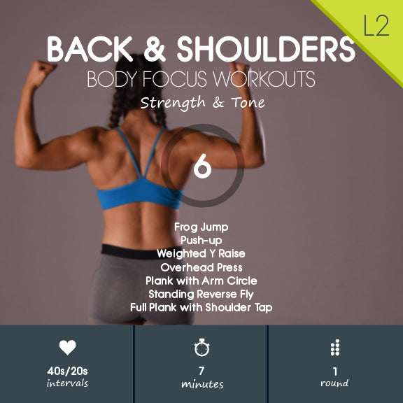 back and shoulder hiit workout