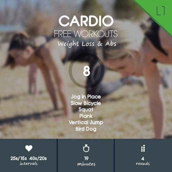 Cardio HIIT Workout for Beginners