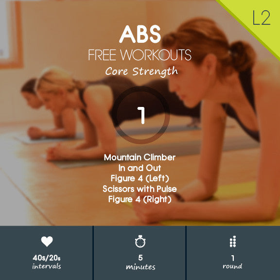 Abs 01 - Lower Ab Workout