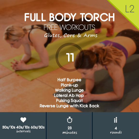 Full Body Tone Up with Cardio - No Equipment