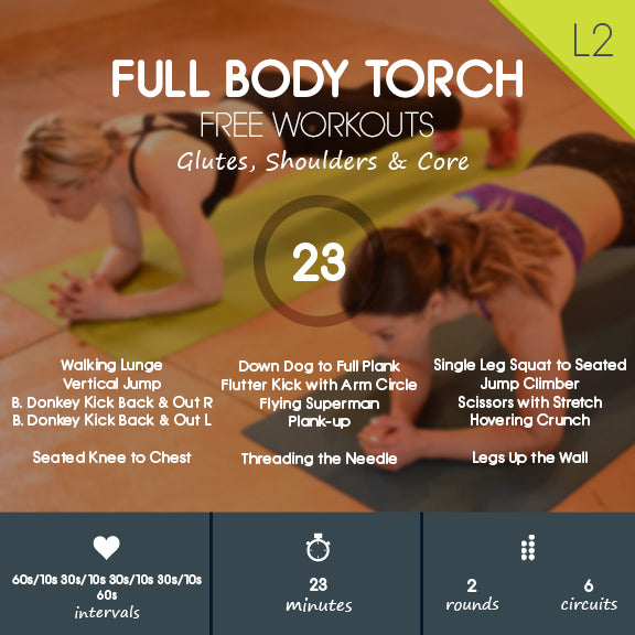 Full Body HIIT + Yoga to Ease into the New Year