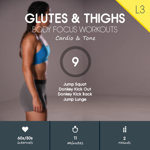 HIIT Glutes Workout Video